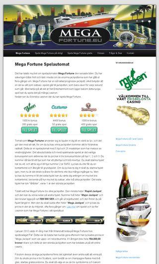 Mobile preview of mega-fortune.eu