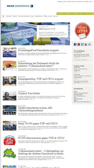 Mobile preview of globalinformations.de