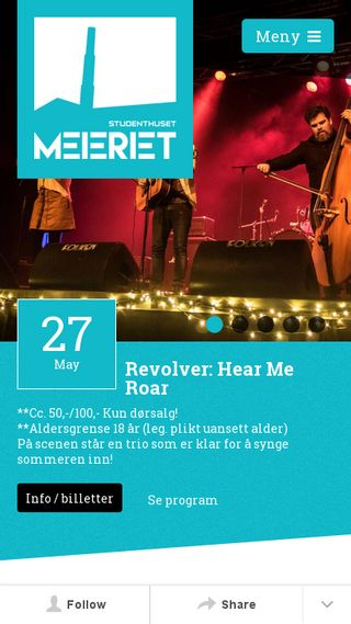 Mobile preview of meieriet.no