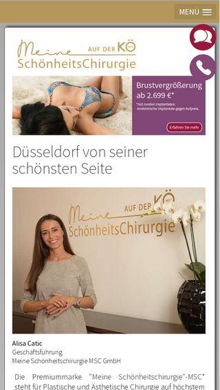 Mobile preview of meine-schoenheitschirurgie.de