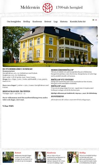 Mobile preview of melderstein.se