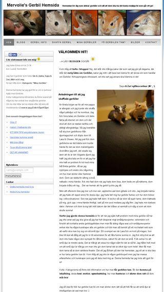 Mobile preview of mervolie.n.nu
