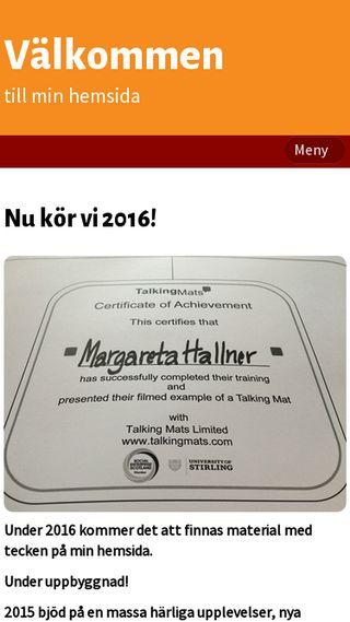 Mobile preview of mhallner.se