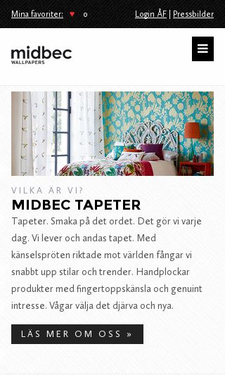 Mobile preview of midbec.se