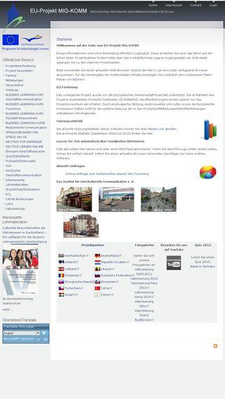 Mobile preview of mig-komm.eu