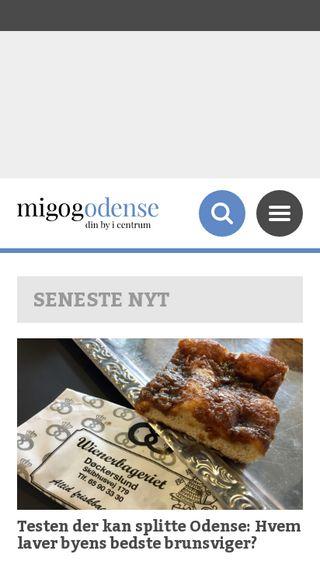 Mobile preview of migogodense.dk