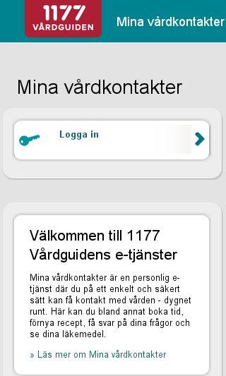 Mobile preview of minavardkontakter.se