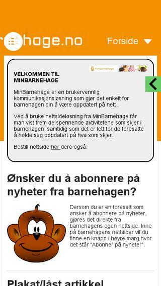 Mobile preview of solheimbedehus.no