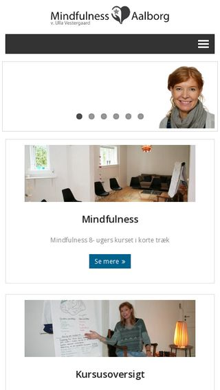 Mobile preview of mindfulness-aalborg.dk