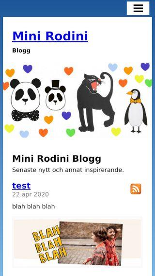 Mobile preview of minirodini.blog