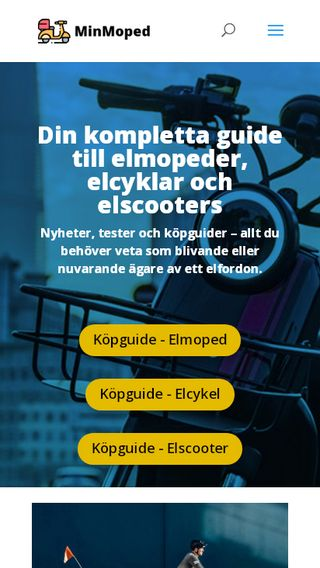 Mobile preview of minmoped.se