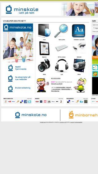 Mobile preview of minskole.no