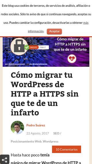 Mobile preview of miposicionamientoweb.es