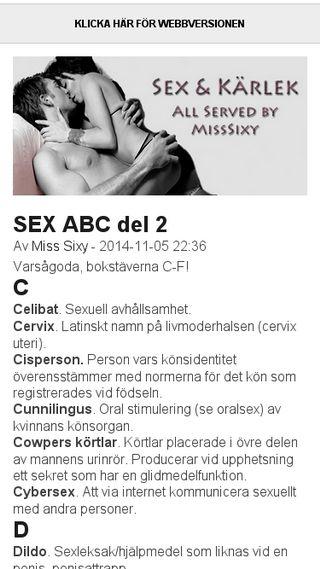 Mobile preview of misssixy.bloggplatsen.se