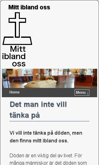 Mobile preview of mittiblandoss.se