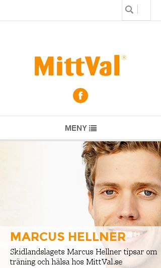Mobile preview of mittval.se