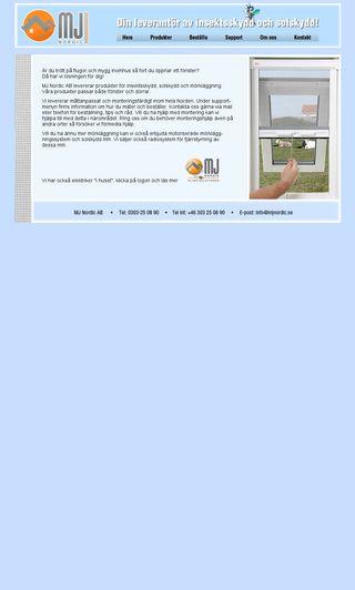 Mobile preview of mjnordic.se