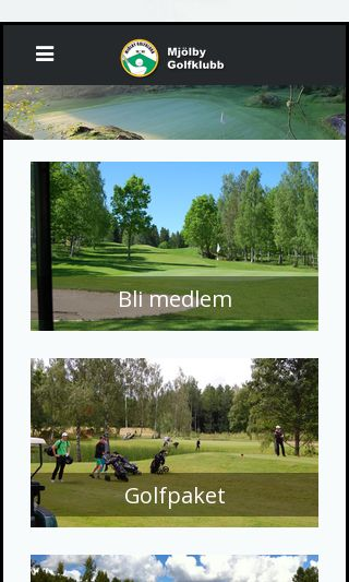 Mobile preview of mjolbygk.se