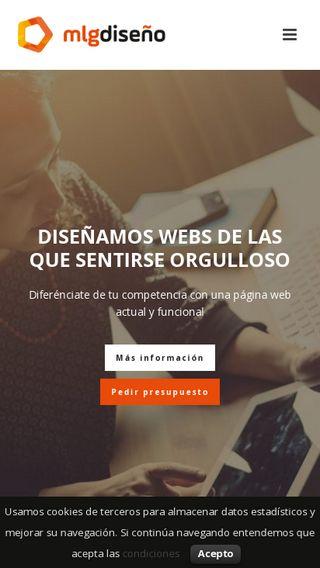 Mobile preview of mlgdiseno.es