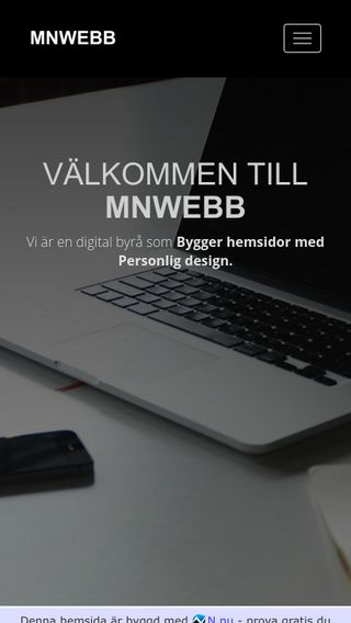 Mobile preview of mnwebb.se