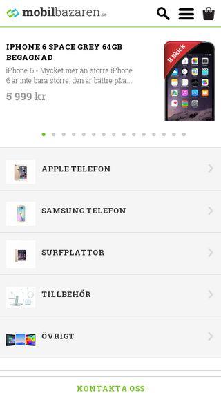 Mobile preview of mobilbazaren.se