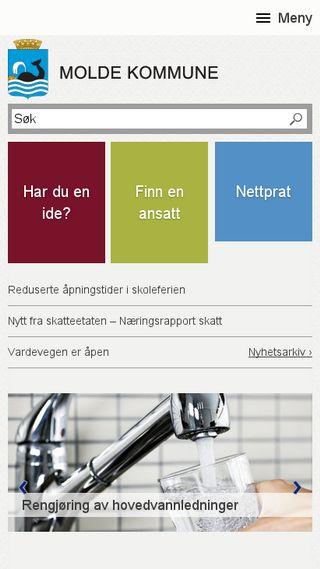 Mobile preview of molde.kommune.no