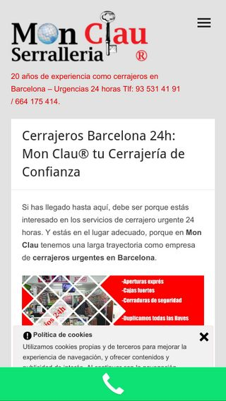 Mobile preview of mon-clau.es
