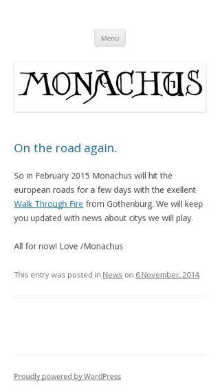 Mobile preview of monachus.se