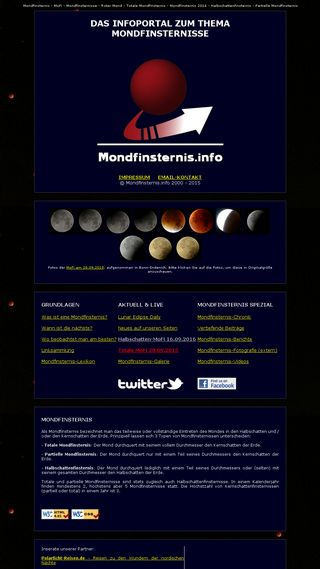 Mobile preview of mondfinsternis.net