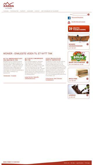 Mobile preview of monier.no