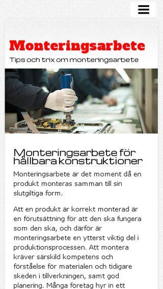 Mobile preview of monteringsarbete.n.nu
