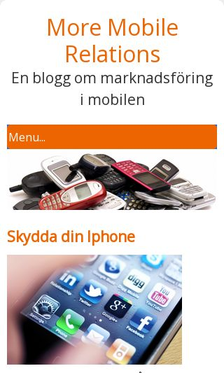 Mobile preview of moremobilerelations.se