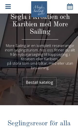 Mobile preview of moresailing.se