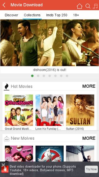 Mobile preview of movie.vidmate.mobi