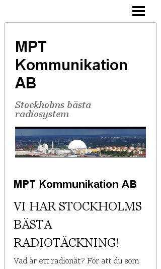 Mobile preview of mptab.se