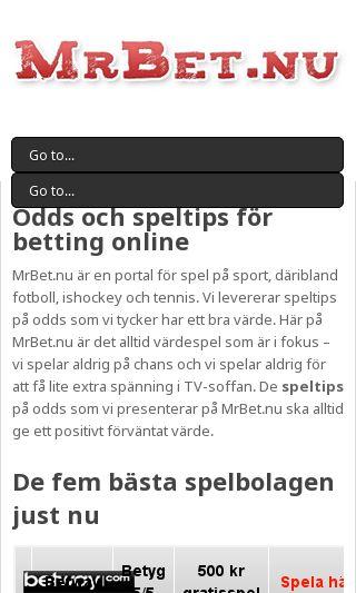Mobile preview of streamfotboll.se