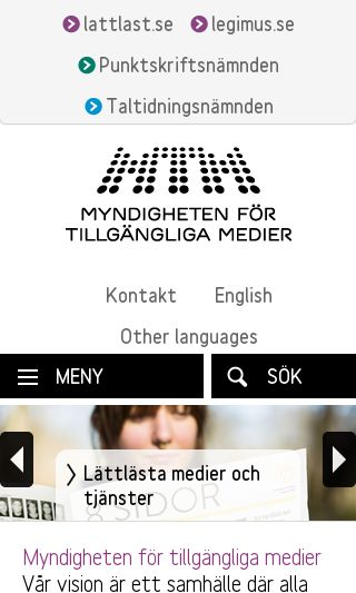 Mobile preview of mtm.se