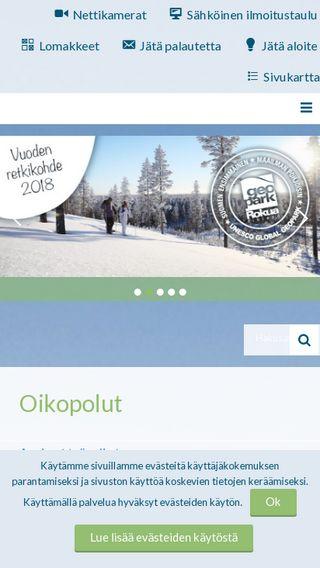 Mobile preview of muhos.fi