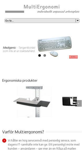 Mobile preview of multiergonomi.se
