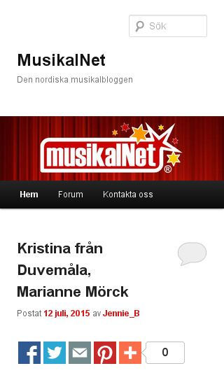 Mobile preview of musikal.net