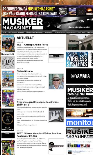 Mobile preview of musikermagasinet.se