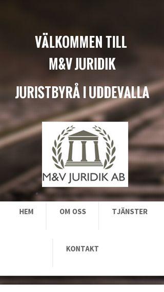 Mobile preview of mvjuridik.se
