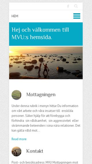 Mobile preview of mvu.nu
