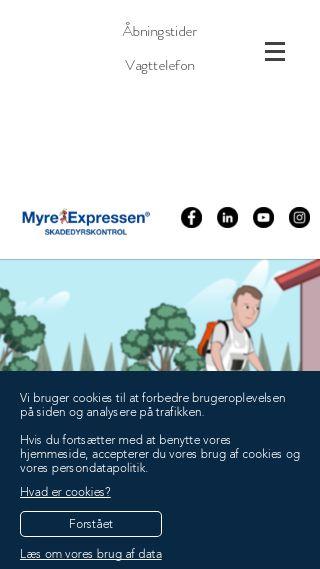 Mobile preview of myreexpressen.dk