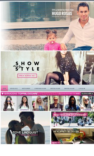 Mobile preview of myshowroom.se
