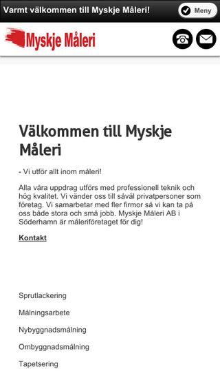 Mobile preview of myskjemaleri.se
