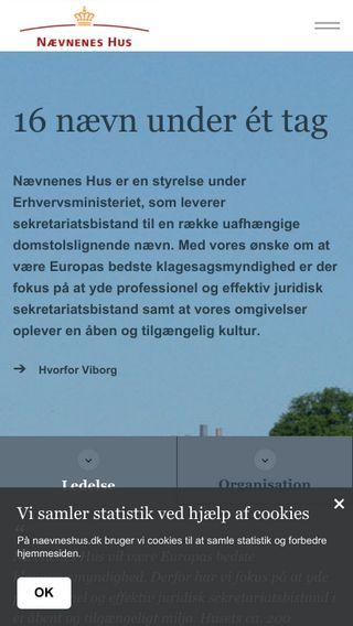 Mobile preview of naevneneshus.dk