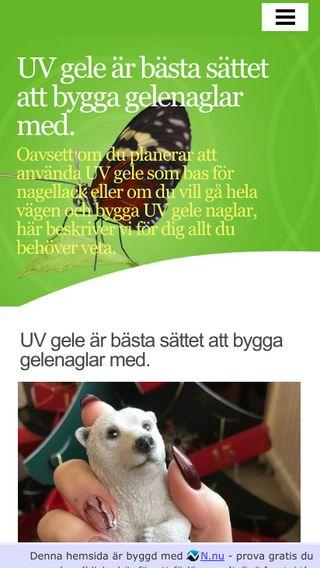 Mobile preview of nagelshop.se
