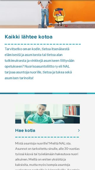 Mobile preview of roinu.fi