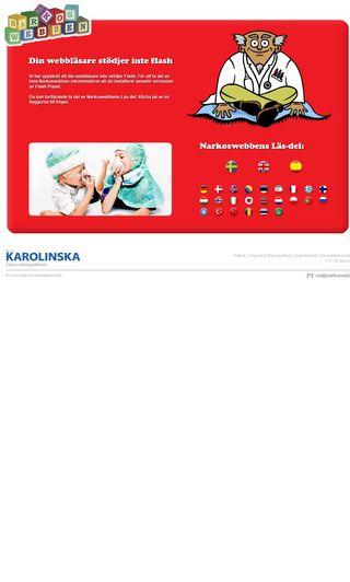 Mobile preview of narkoswebben.se
